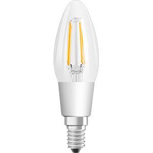 LED-Lampe STAR+ GLOWdim E14, 4 W, 470 lm, 2700 K, Filament OSRAM 4058075808140