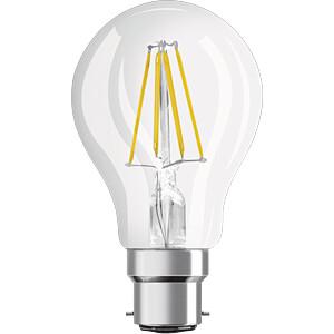 LED-Lampe STAR, B22d, 7 W, 806 lm, 2700 K, Filament OSRAM 4058075808430