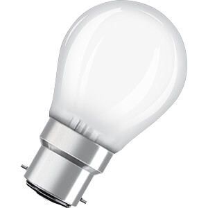 LED-Lampe STAR, B22d, 4 W, 470 lm, 2700 K OSRAM 4058075808850