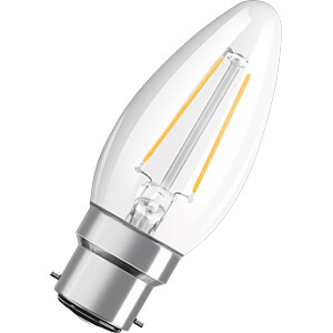 LED-Lampe STAR, B22d, 4 W, 470 lm, 2700 K, Filament OSRAM 4058075808928