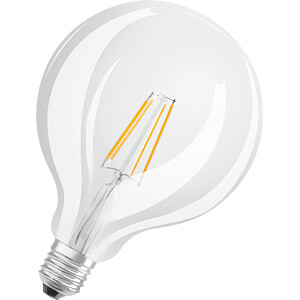 LED-Lampe STAR+ GLOWdim E27, 7 W, 806 lm, 1800 K, Filament OSRAM 4058075808942