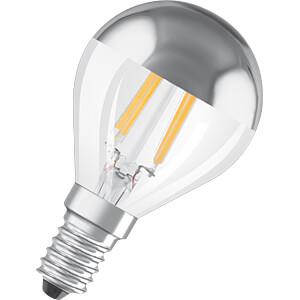 LED-Lampe STAR E14, 4 W, 380 lm, 2700 K, Filament, Spiegelkopf OSRAM 4058075809000