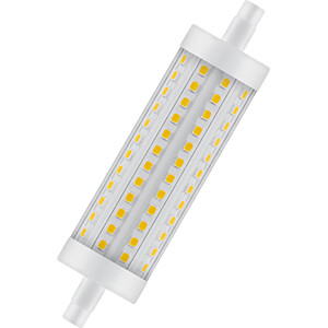 LED-Lampe STAR LINE, R7S, 15 W, 2000 lm, 2700 K, 118 mm, dimmbar OSRAM 4058075811737
