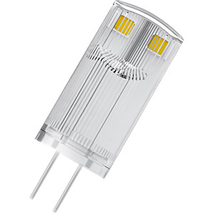 LED-Stiftsockellampe G4 STAR, 0,9 W, 100 lm, 2700 K, Doppelpack OSRAM 4058075812314