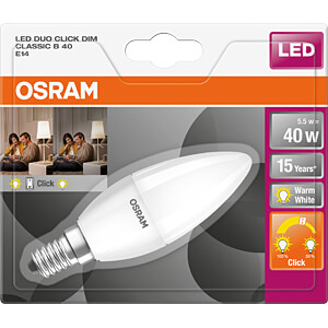 LED-Lampe STAR+ E14, 5,5 W, 470 lm, 2700 K, dimmbar OSRAM 4058075814912