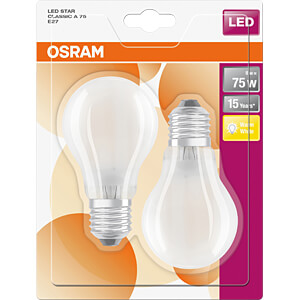 LED-Lampe STAR E27, 8 W, 1055 lm, 2700 K, Filament OSRAM 4058075815735