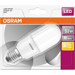 LED-Lampe STAR STICK E27, 7 W, 700 lm, 2700 K OSRAM 4058075815919