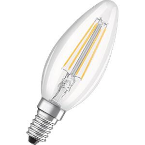 LED-Lampe BASE E14, 4 W, 470 lm, 4000 K, Filament, 3er-Pack OSRAM 4058075819719