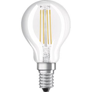 LED-Lampe BASE E14, 4 W, 470 lm, 4000 K, Filament, 3er-Pack OSRAM 4058075819733