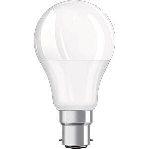 LED-Lampe BASE, B22d, 9,5 W, 806 lm, 2700 K, 4er-Pack OSRAM 4058075819511