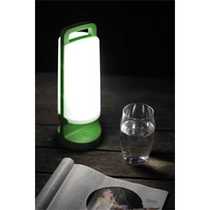 Mobile Tablelamp, IP 54, green ECO LIGHT P 9041 GRN