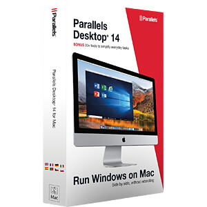 Software, Parallels Desktop für Windows & OS X PARALLELS PD14-BX1-EU