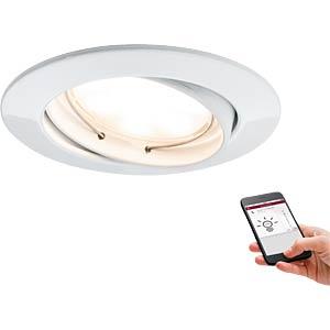 Smart Light, Einbauleuchte, Goal, weiß, EEK A++ - A PAULMANN 50006