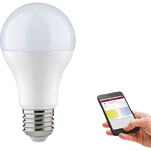 Smart Light, Lampe, E27, 9W, Weiß, Boyn, EEK A+ PAULMANN 50012