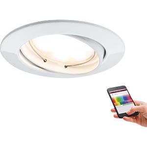 Smart Light, Einbauleuchte, SmartCoin, RGB, 2,4 W, EEK A++ - A PAULMANN 92093