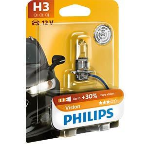 H3 headlight bulb Philips Vision PHILIPS 69561130