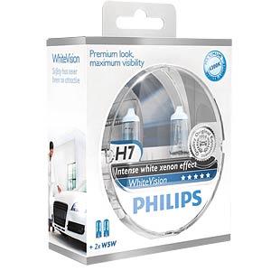 H7 Scheinwerferlampe Philips White Vision, 2-er PHILIPS 78888728
