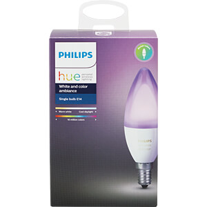 Smart Light, Lampe, E14, 6,5W, RGBW, EEK A+ PHILIPS 8718696695166