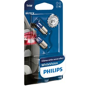 T4W Signallampen Philips White Vision, 2-er PHILIPS 22105630