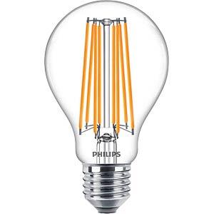 LED lamp E27, 17 W, 2452 lm, 2700 K, filament PHILIPS 76237700