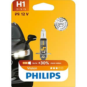 H1 headlight bulb Philips Vision PHILIPS 47516930