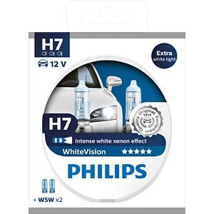 Kfz-Lampe, H7, 2er-Pack, PX26d, WhiteVision PHILIPS 78888728