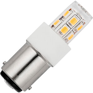 LED-Lampe, BA15d, 2 W, 140 lm, 2700 K SCHIEFER LIGHTING L024372427