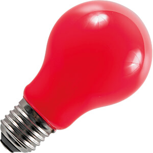 LED-Lampe E27, 1 W, 20 lm, rot, Filament SCHIEFER LIGHTING 276015002