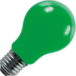 LED-Lampe E27, 1 W, 20 lm, grün, Filament SCHIEFER LIGHTING 276015003