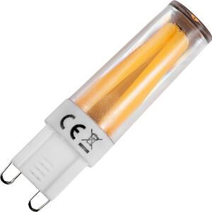 LED-Lampe G9, 3 W, 260 lm, 2800 K, Filament, dimmbar SCHIEFER LIGHTING L022366037