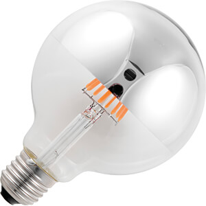 LED-Lampe E27, 6.5 W, 470 lm, 2500 K, Filament, dimmbar SCHIEFER LIGHTING LF023880812