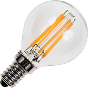 LED-Lampe E14, 4 W, 320 lm, 2500 K, Filament, dimmbar SCHIEFER LIGHTING LF023830302