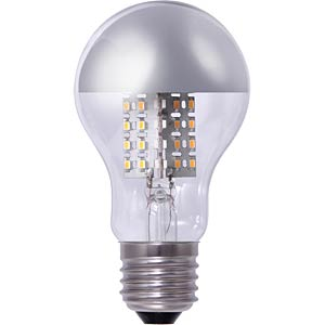 A60 LED light bulb, clear 5.7 W - mirror head, EEC A+ SEGULA 50369