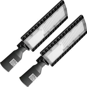 LED Straßenlampe, 2er-Pack, 50 W, 6750 lm, 5700 K OPTONICA SL9157