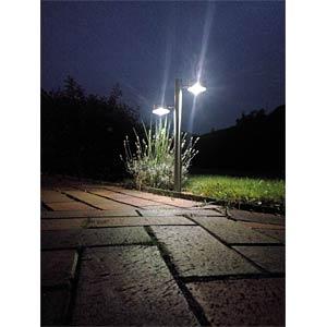 Premium Solar-LED-Gartenleuchte, 2-fach FREI
