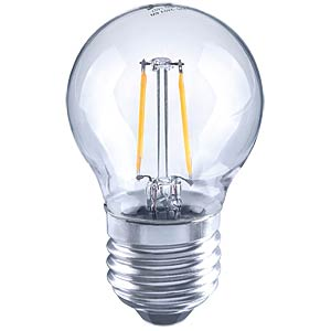 LED, globe, filament, 2 W, EEC A++ TELESOUND 37-35702