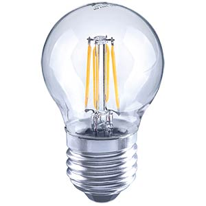 LED, globe, filament, 4 W, EEC A++ TELESOUND 37-35704