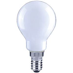 LED drop, filament, soft white, 4 W, EEC A++ TELESOUND 37-85404