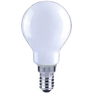 LED-Tropfen, Filament softweiß,  4 W, EEK A++ TELESOUND 37-85404
