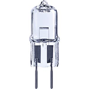 Halogen-Stiftsockellampe GY6,35, 20 W, 255 lm, 2700 K, dimmbar TELESOUND 36-20620