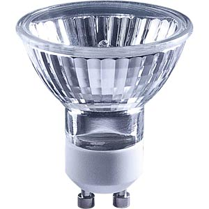 Halogen reflector, 50W, GU10 TELESOUND 36-21050