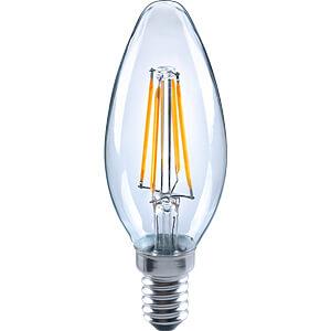 LED-Lampe E14, 3,5 W, 430 lm, 2700 K, Filament, dimmbar TELESOUND 37-23405