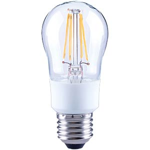 LED drop, dimmable filament, 4.5W, EEC A++ TELESOUND 37-25704