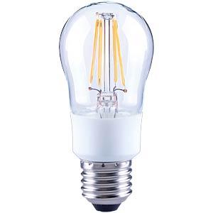 LED-Tropfen, Filament dimmbar,  4,5 W, EEK A++ TELESOUND 37-25704