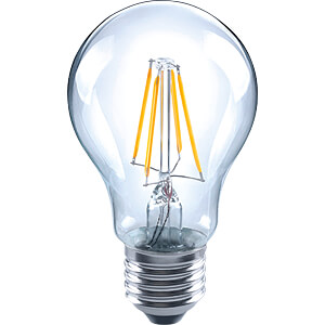 LED-Lampe E27, 7 W, 810 lm, 2700 K, Filament, dimmbar TELESOUND 37-26607