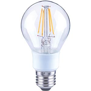 LED-Tropfen, Filament dimmbar,  5,5 W, EEK A++ TELESOUND 37-26705