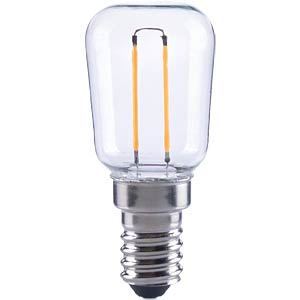 LED-Lampe E14, 0,85 W, 80 lm, 2700 K, Filament TELESOUND 37-30841