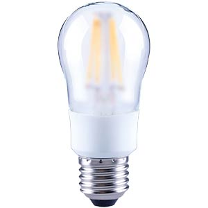 LED-Lampe E27, 4,5 W, 446 lm, 2700 K, Filament, dimmbar TELESOUND 37-65704