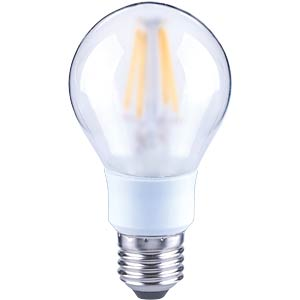 LED-Lampe E27, 5,5 W, 608 lm, 2700 K, Filament, dimmbar TELESOUND 37-66705