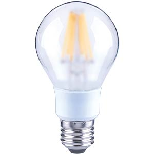 LED globe, dimmable filament, 7 W, EEC A+ TELESOUND 37-66707